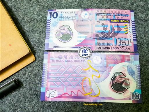 10$ Hồng Kông Polyme (tiền đẹp nhất TG)